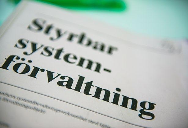 styrbar systemförvaltning pm3